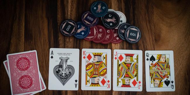 カジノゲームのポーカー