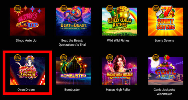 ライブカジノハウスのカジノゲーム一覧