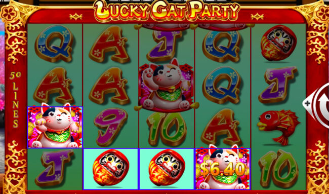還元率の高いスロット・幸運招き猫パーティー