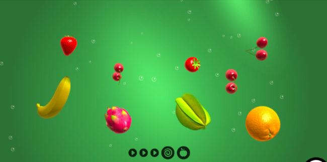 フルーツワープ(Fruit warp)